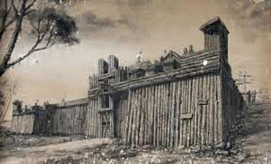 The old wooden Fort San Pedro of Cebu