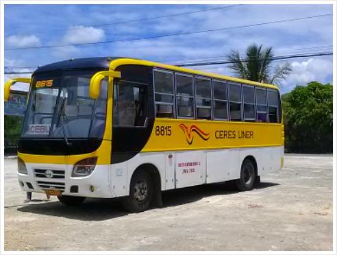 Ceres Bus in Cebu City