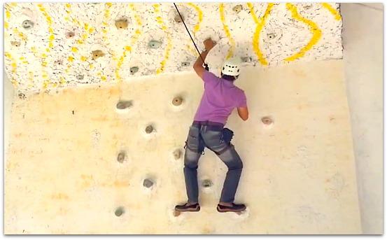 Alta Cebu Resort has all sorts of activities including wall climbing