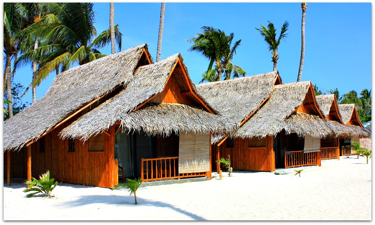 Amihan Beach Cabanas rooms