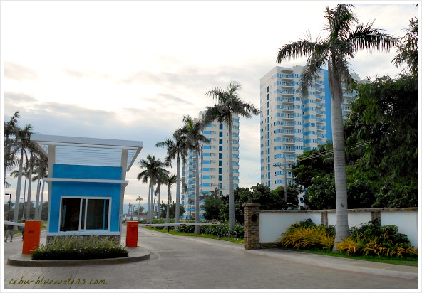 This is an entrance view of Amisa Residences located in Mactan Island, Cebu Province. Real estate developers have been busy expanding their booming business on the island.