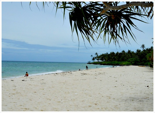This is a nice view of Bakhaw Beach I took this June 2013.