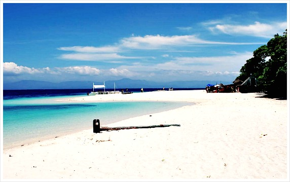 Basdaku Beach. It is located in Moalboal Town of Cebu Province, Philippines.
