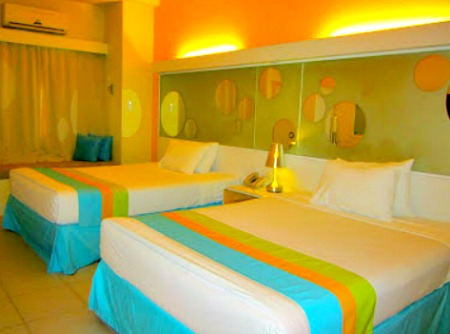 Nice BE Resorts bedroom with queen size beds