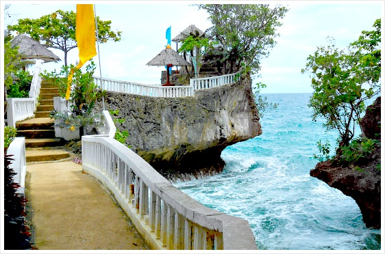 Buho Rock Resort, Camotes Islands, Cebu, Philippines.