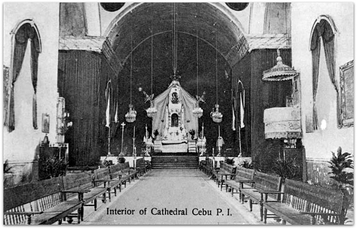 Cebu Metropolitan Cathedral's interior (Photo: San Carlos University, Cebu Studies Center)