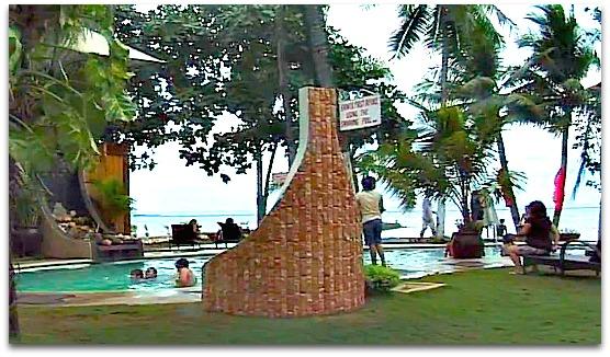 Pool of Cebu marine Beach Resort located in Mactan Island, Cebu