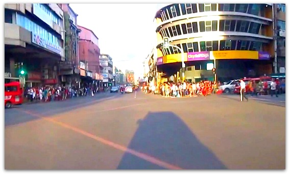 Colon Street is the center of Cebu City where people shops, watch movies, do business, and where universities are located.