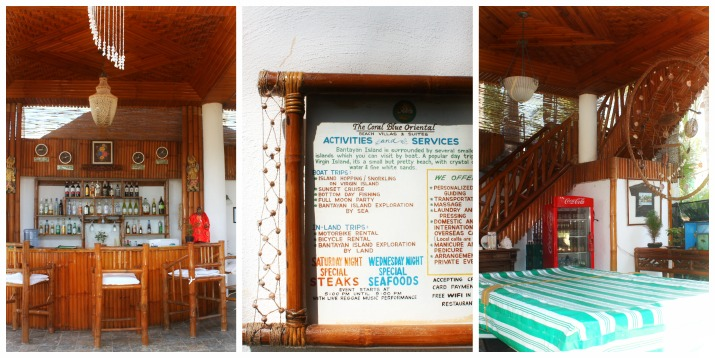 Coral Blue Oriental Beach Villas and Suites' facilities & services on Bantayan Island, Cebu