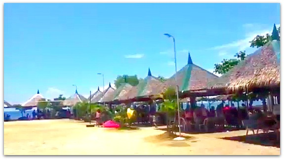 Nipa hut cottages are available at Green Lagoon Park Resort in Compostela, Cebu