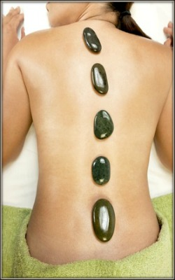 This is a rejuvenating Hot Stone Massage at Grand Royal Spa, Cebu City, Philippines.