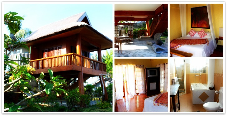 Room facilities at Hoyohoy Villas Resort in Santa Fe, Bantayan Island, Cebu