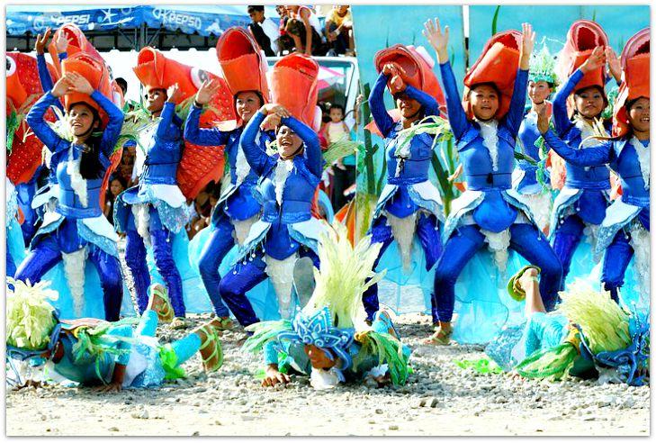 Showdown during the Kinsan Festival in Aloguinsan, Cebu