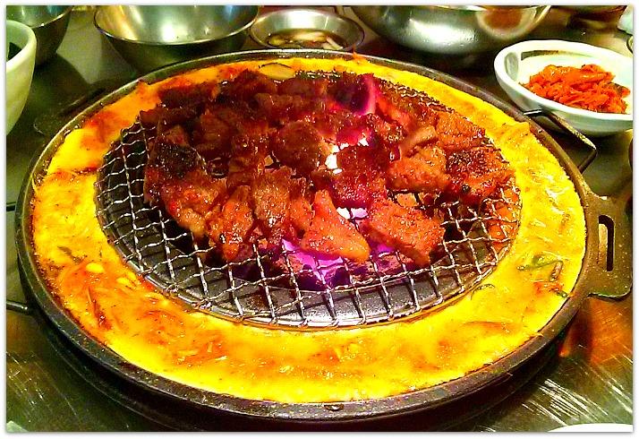 Pork Bulgogi Korean Dish