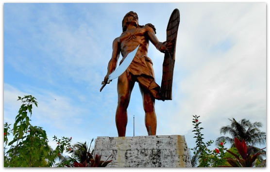 Statue of Lapu Lapu, Mactan Island Shrine