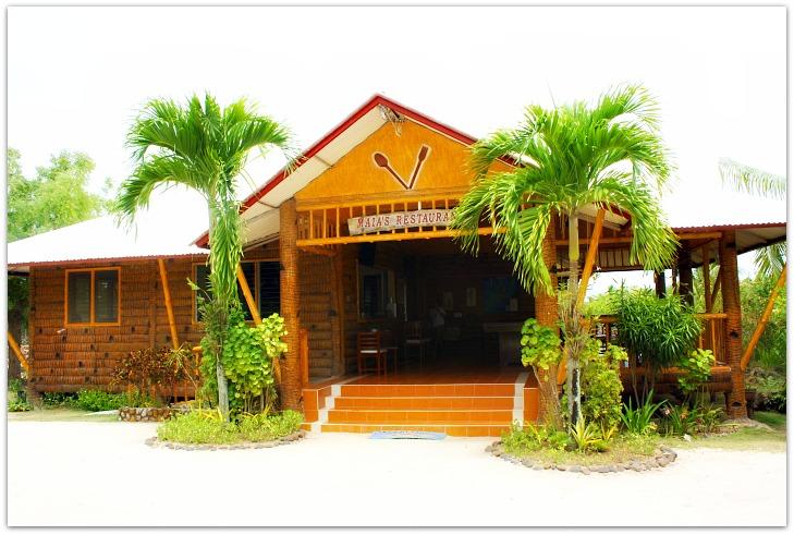 Maia's Beach Resort Restaurant, Bantayan Island, Cebu