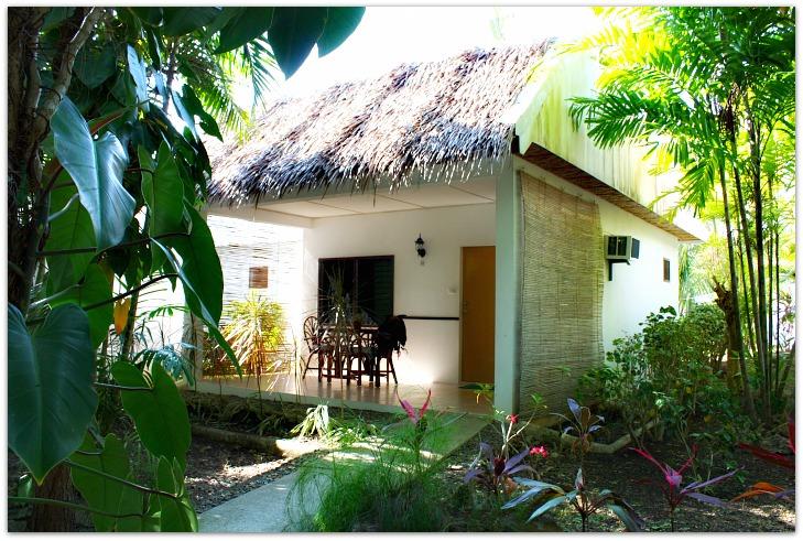 Aircon cottage at Marcosas Cottages Resort in Panagsama Beach Resort, Moalboal, Cebu