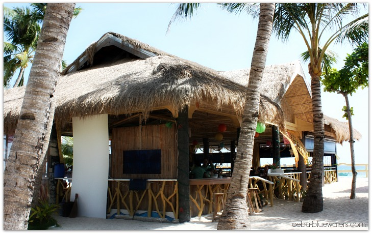 Marlins Beach Resort Restaurant, Bantayan Island, Cebu, Philippines