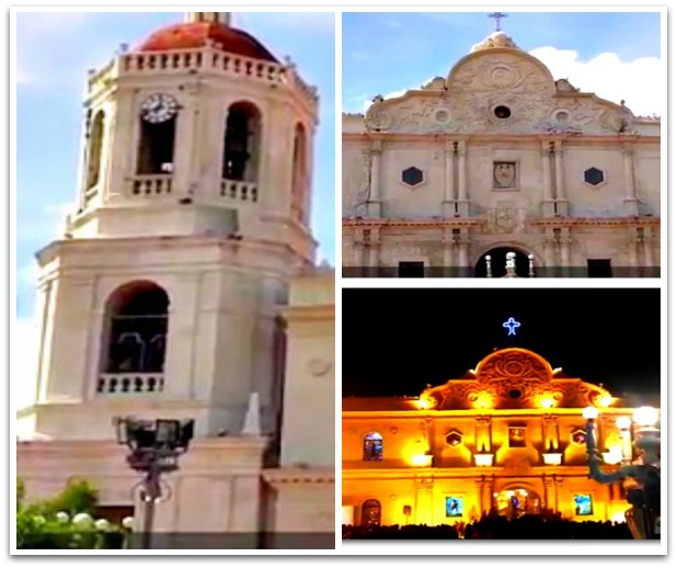 Collage of Cebu Metropolitan Cathedral in Cebu City, Philippines