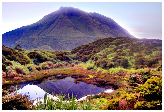 Mount Apo. It is the highest peack in the Philippines with a height of 2,954 meters above sea level. Now, it is one of the popular climbing destination in Mindanao. Source: hikergettaway.wordpress.com