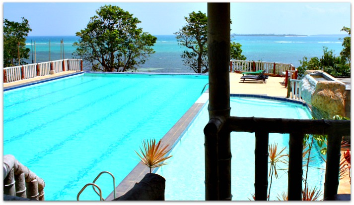 Adult and children swimming pool at Bantayan Island Nature Park & Resort