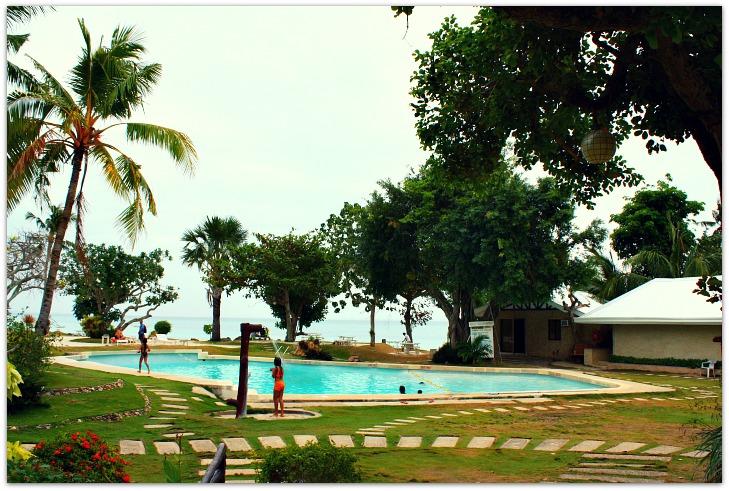Swimming Pool at Ogtong Cave Resort a member of Santa Fe Beach Club, Pooc, Bantayan Island, Cebu