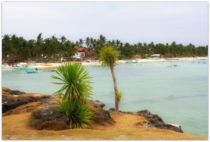 Santa Fe Beach view from Ogtong Cave Resort, Bantayan Island, Cebu Philippines
