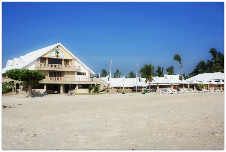 View of Sta Fe Beach Club, Bantayan Island, Cebu, Philippines