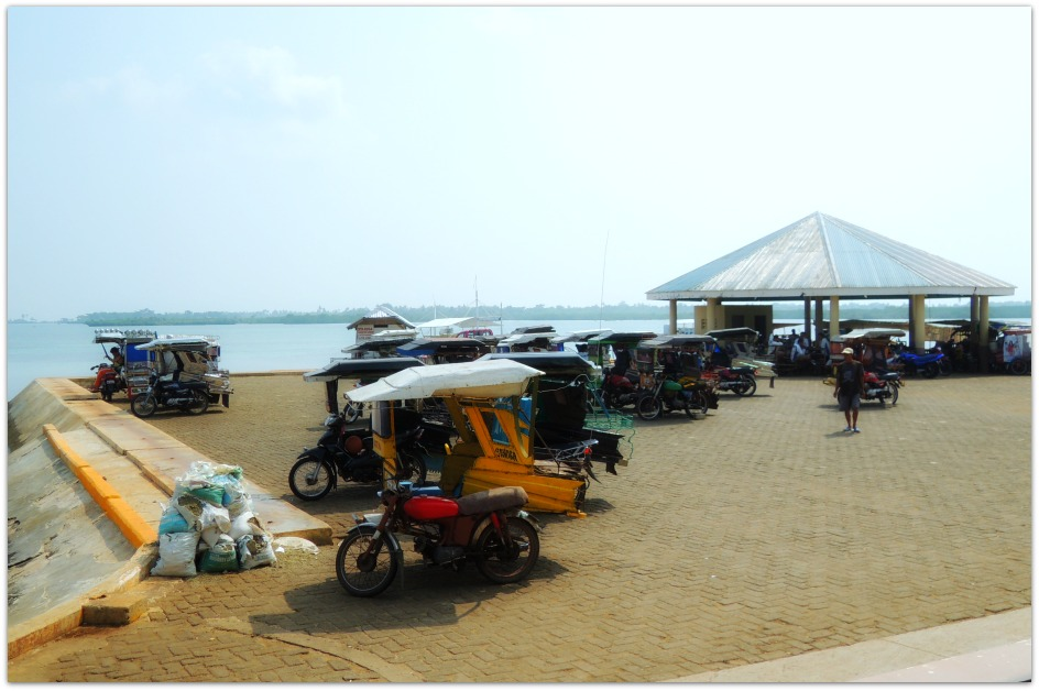 Santa Rosa Port on Olango Island