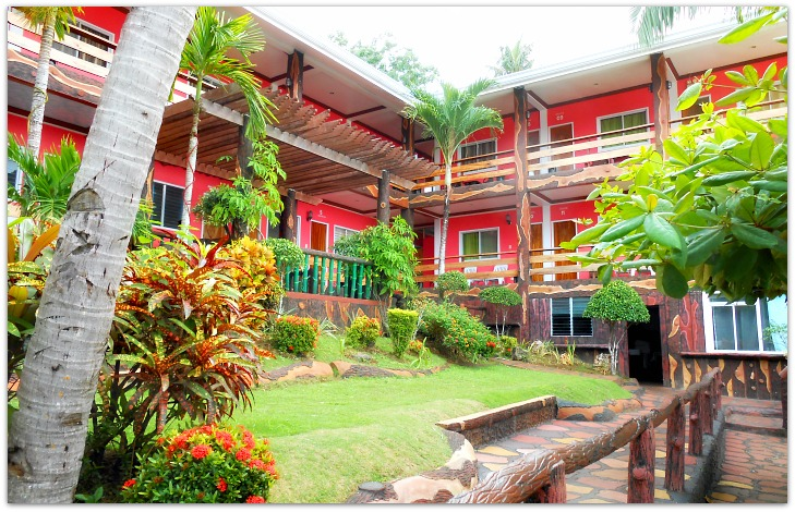 Family rooms at Santiago Bay Garden Resort in Camotes Islands, Cebu