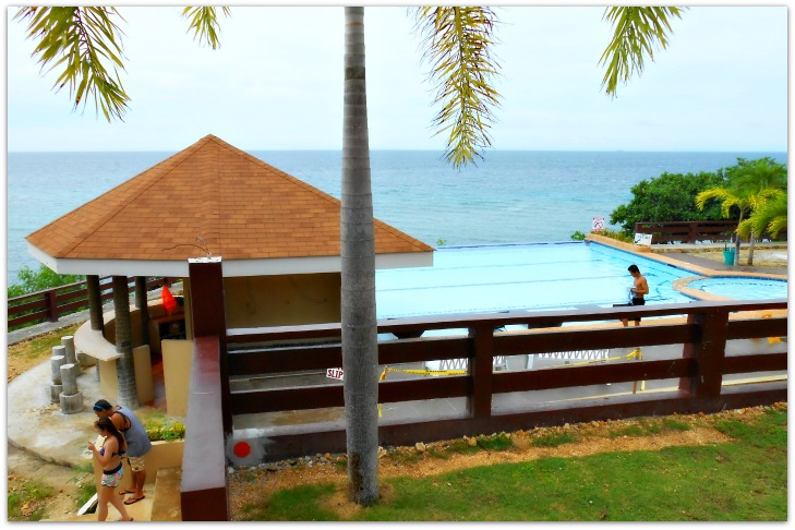 Second Santiago Bay Garden Resort's swimming pool in Camotes Islands, Cebu, the Philippines