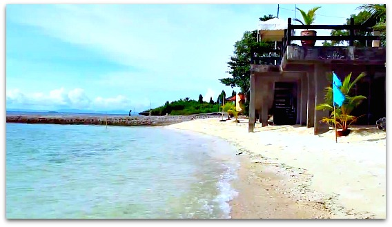 Nice beach at Sotogrande Hotel, Mactan Island, Cebu, Philippines