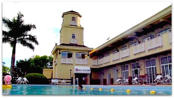 Swimming pool at Sotogrande Hotel in Mactan Island, Cebu, Philippines