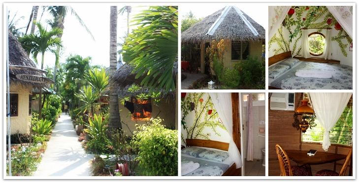 Cottages accommodation at St Bernard Beach Resort, Santa Fe, Bantayan Island, Cebu