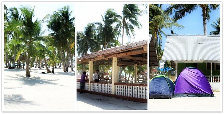 Sugar Beach Resort Facilities on Bantayan Island, Cebu, Philippines