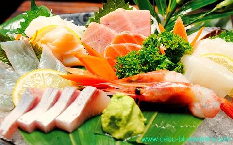 Cebu Japanese Restaurant Seafood & Sushi on Bamboo Leaves
