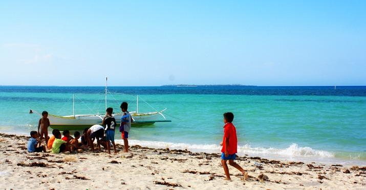 Beach at Tickety Boo Beach Resort, Bantayan Island