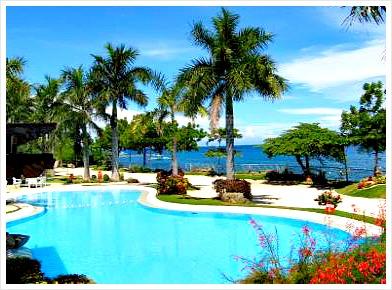 Vistamar Beach Resort & Hotel, Mactan Island, Cebu, Philippines.