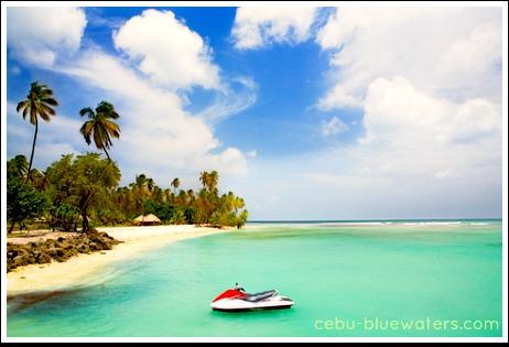 Moalboal Beaches and Resorts, Cebu, Philippines.