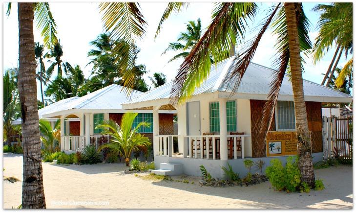 Bungalows at Abaniko Beach Resort in Bantayan Island