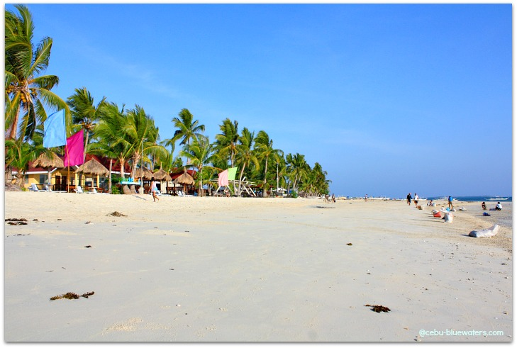 Alice Beach area in Santa Fe, Bantayan Island, Cebu, Philippines