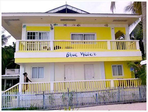 Bluewater Malapascua Beach Resort. It is located on Bounty Beach in Malapascua Island, Cebu, Philippines.