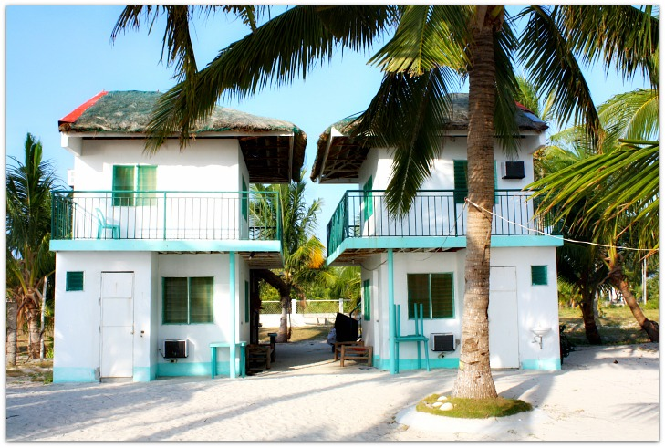 Bobel Hayahay Beach's accommodation facility on Bantayan Island, Cebu, Philippines