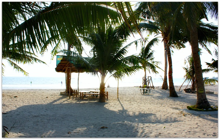 Beachfront view at Bobel Hayahay Beach, Santa Fe, Bantayan Island, Cebu, Philippines