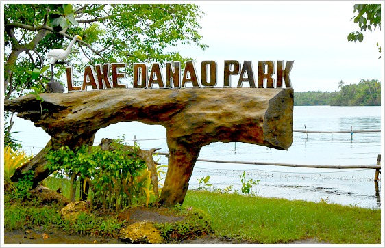Lake Danao Park is located in Camotes Islands. This is the largest lake you can find in Cebu Province, Philippines.