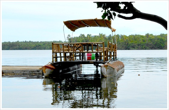 Sakanaw is one of the rides you can enjoy with when visiting Lake Danao Park in Camotes Islands, Cebu, Philippines.