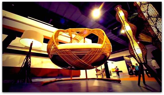 A Cebu furniture on exhibition
