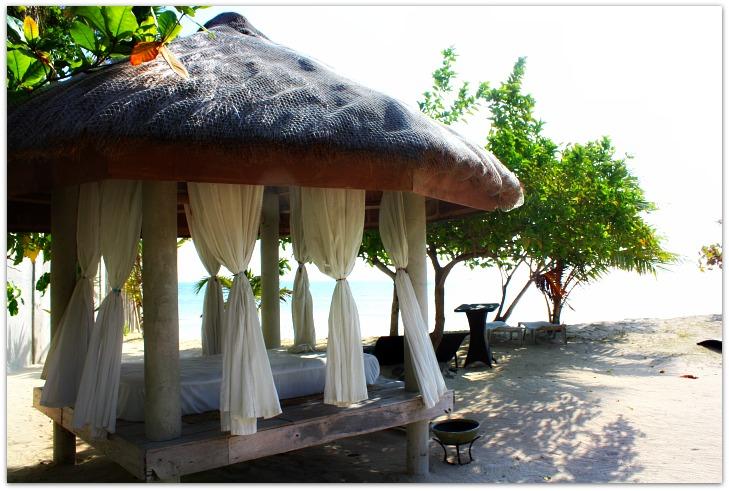 Massage Hut at Hoyohoy Villas on Bantayan Island, Cebu