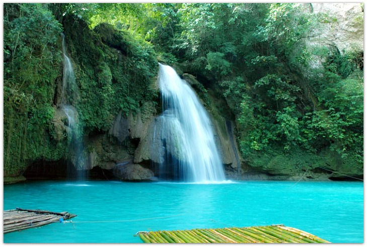 Kawasan Fall in Matutinao, Badian, Cebu