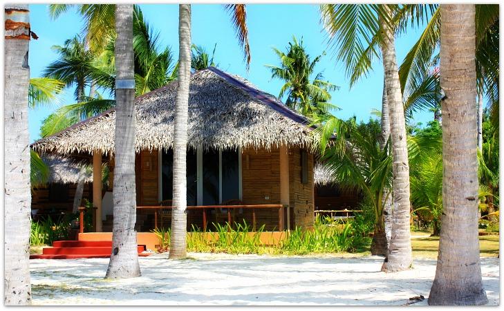 Cottages at Kota Beach Resort, Bantayan Island, Cebu, Philippines